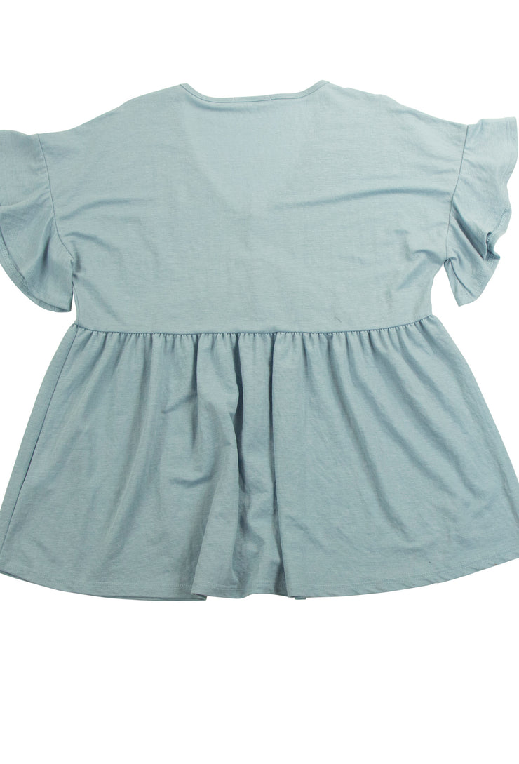 Dolly Top in Blue