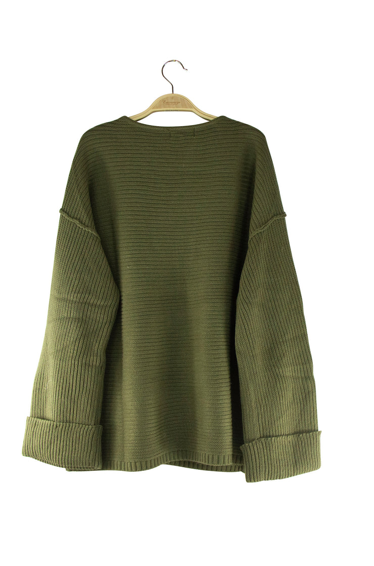 Vanessa Top in Dark Green