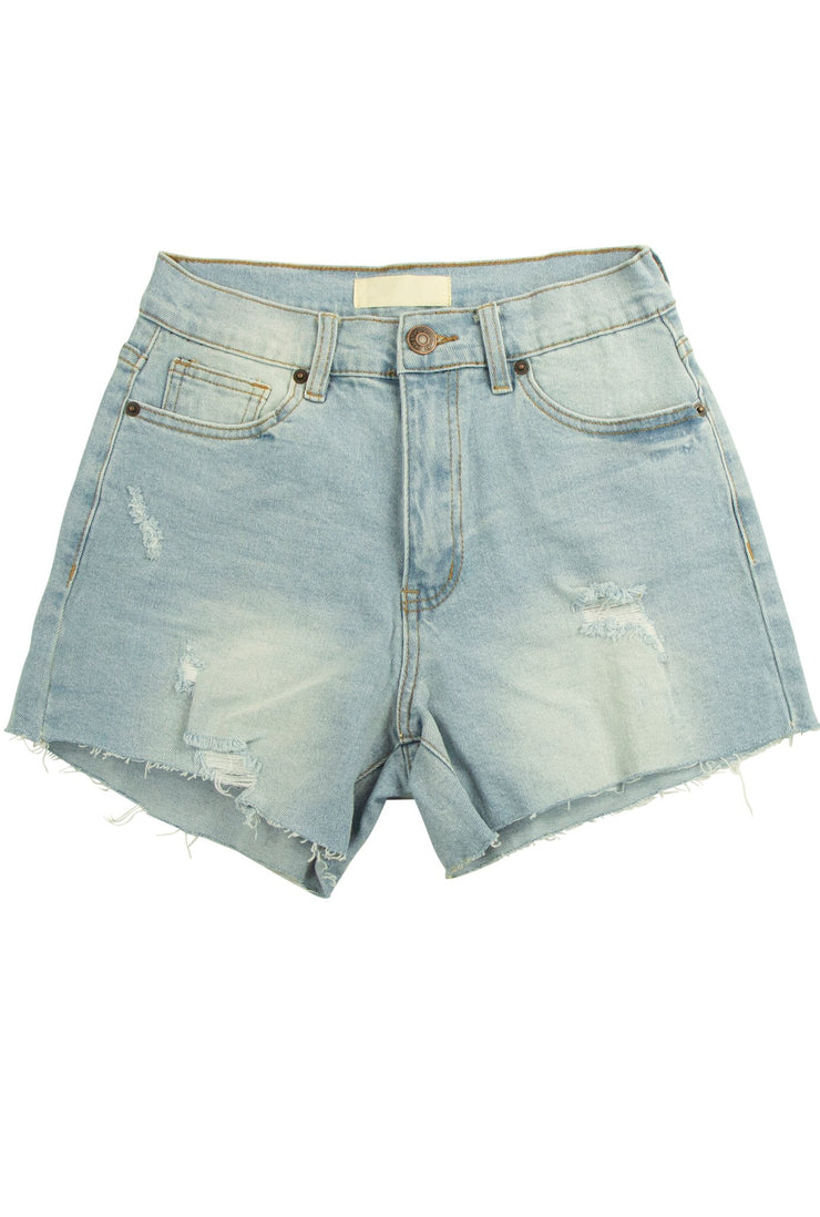 Staycation Shorts in Light Blue