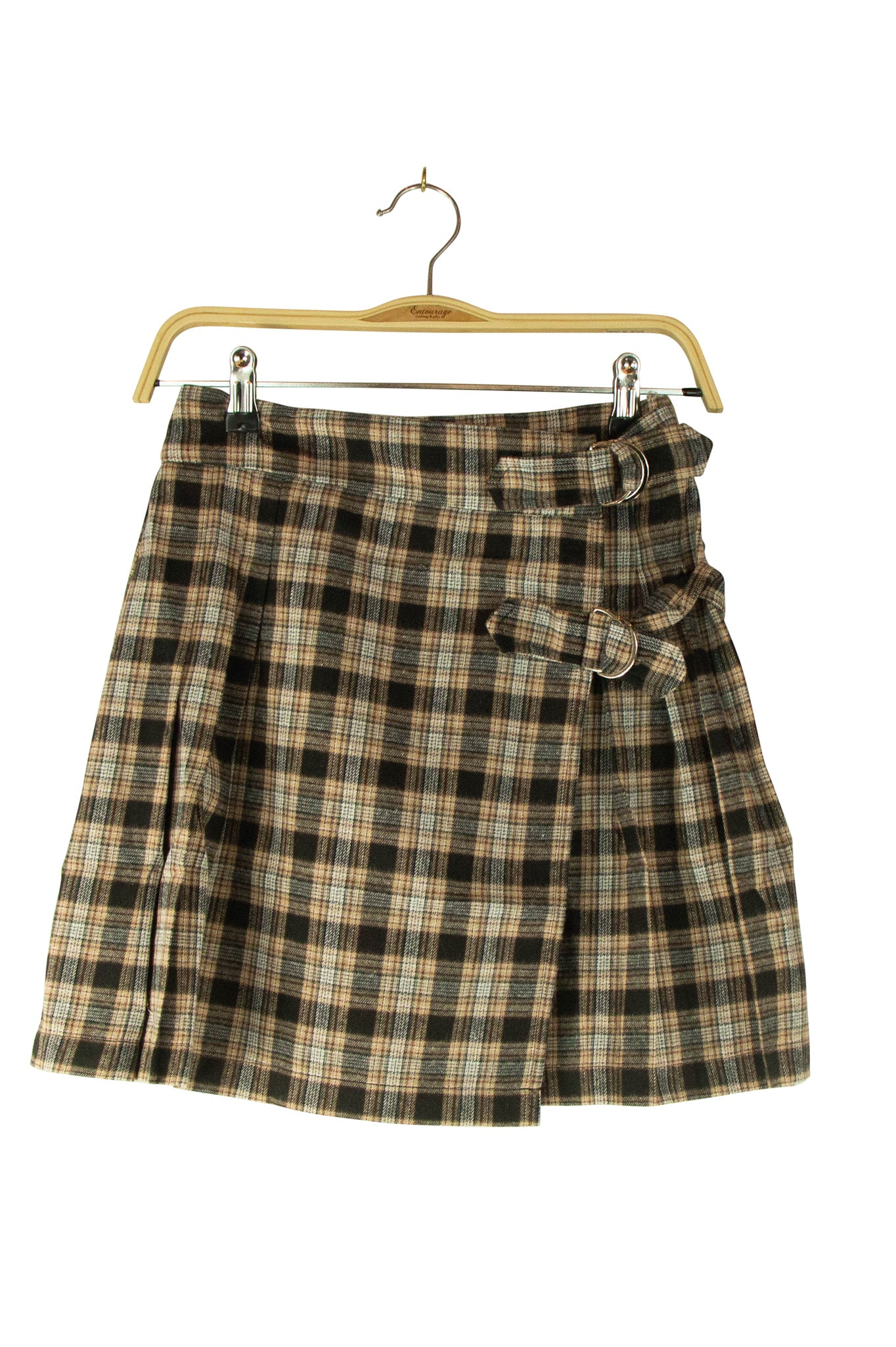 Plaid Yourself Skirt