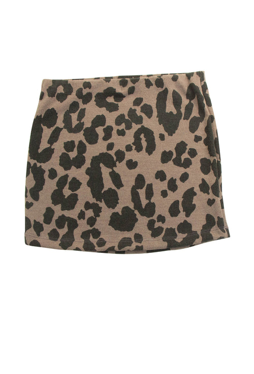 Keen Kitty Skirt in Brown