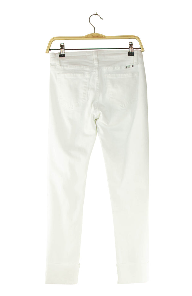 Straight and Narrow Jeans in White