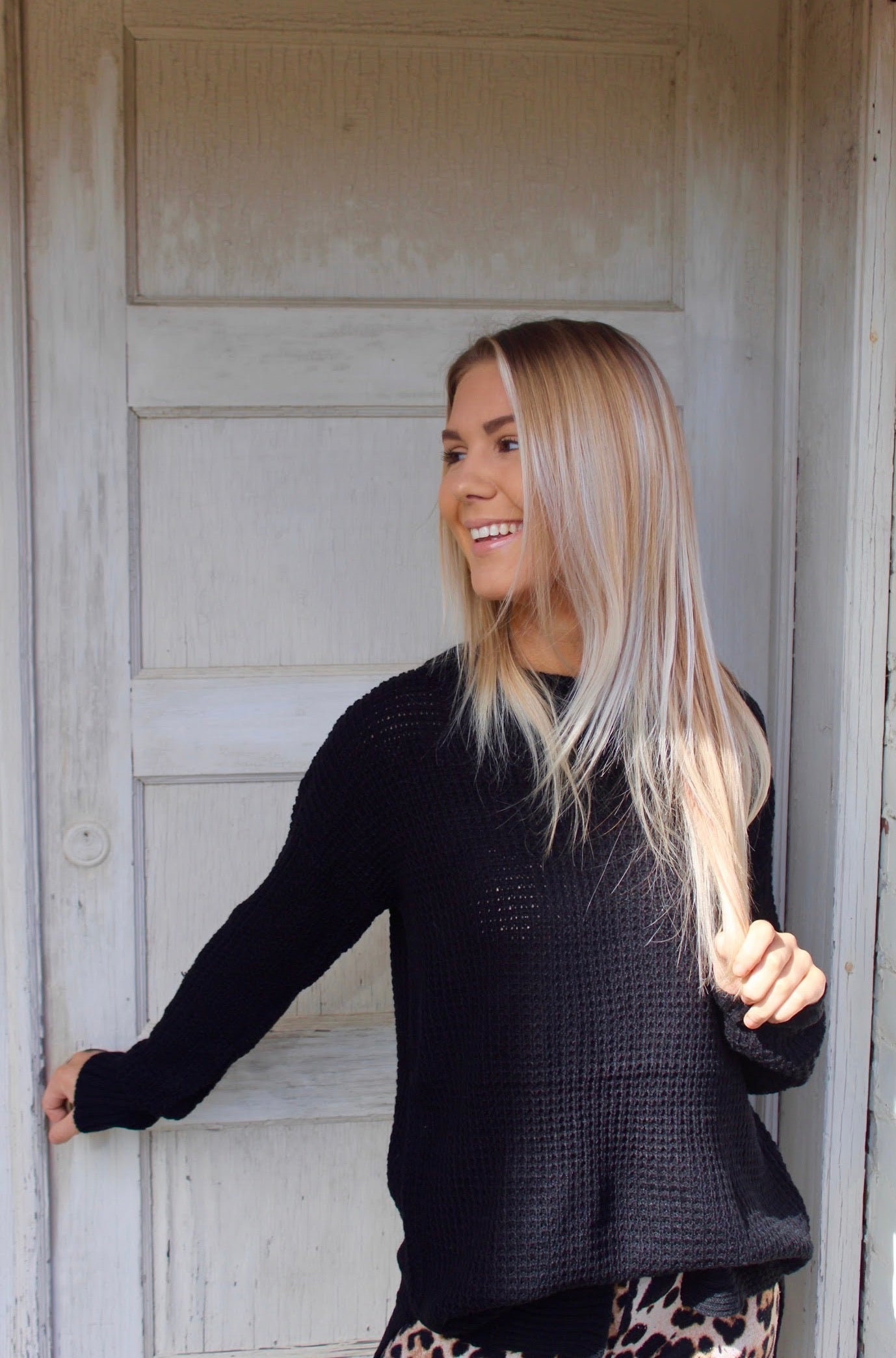 The Standard Sweater in Black