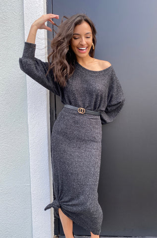 In Awe Jumpsuit in Grey