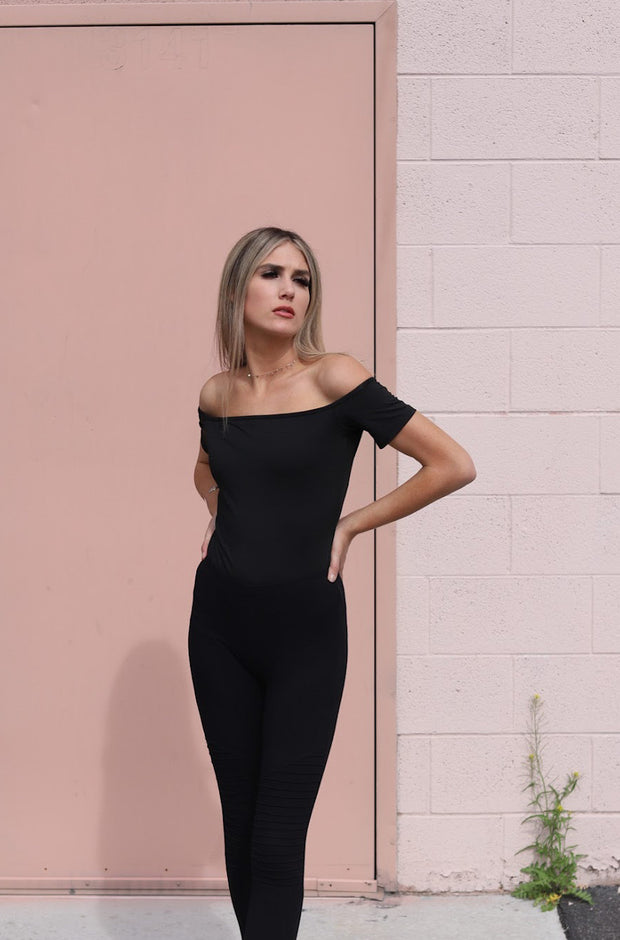 Therese Bodysuit in Black