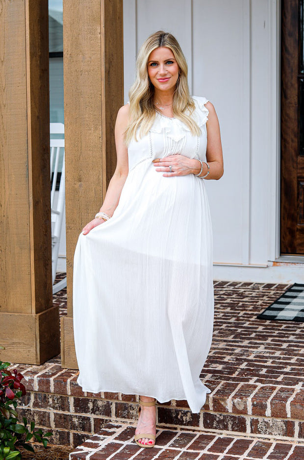 Diahann Dress in Off White