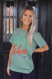 Hocus Pocus Tee in Green