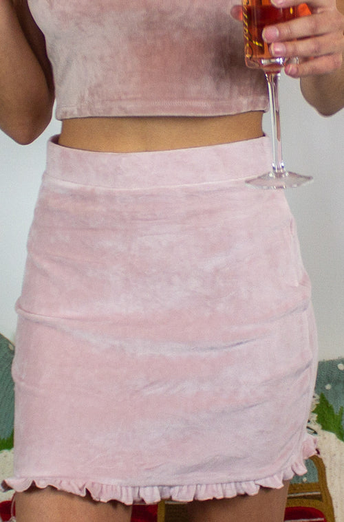 Eye Candy Skirt in Pink