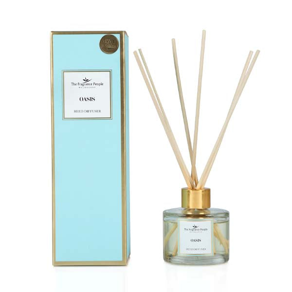 Reed diffuser Floral White Tea - The Fragrance People