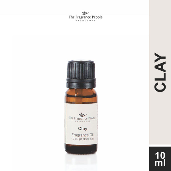 Fragrance oil 10 ml Clay - The Fragrance People
