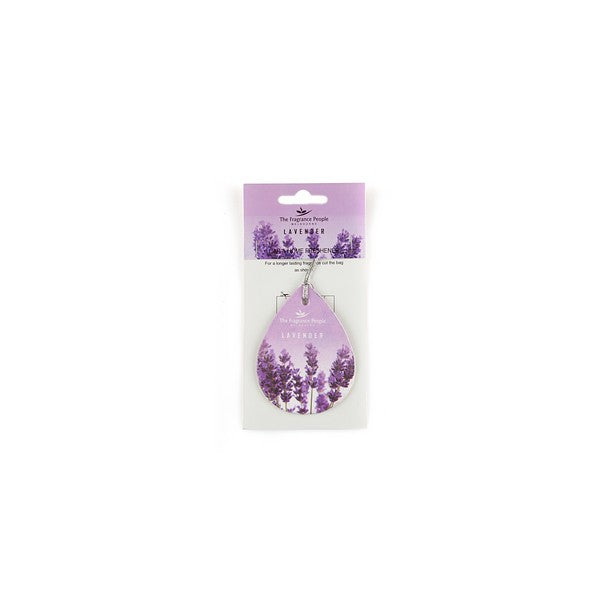 Car Air Freshener Lavender - The Fragrance People