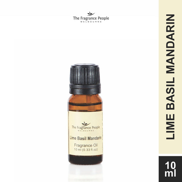 Fragrance oil 10 ml Lime Basil Mandarin - The Fragrance People