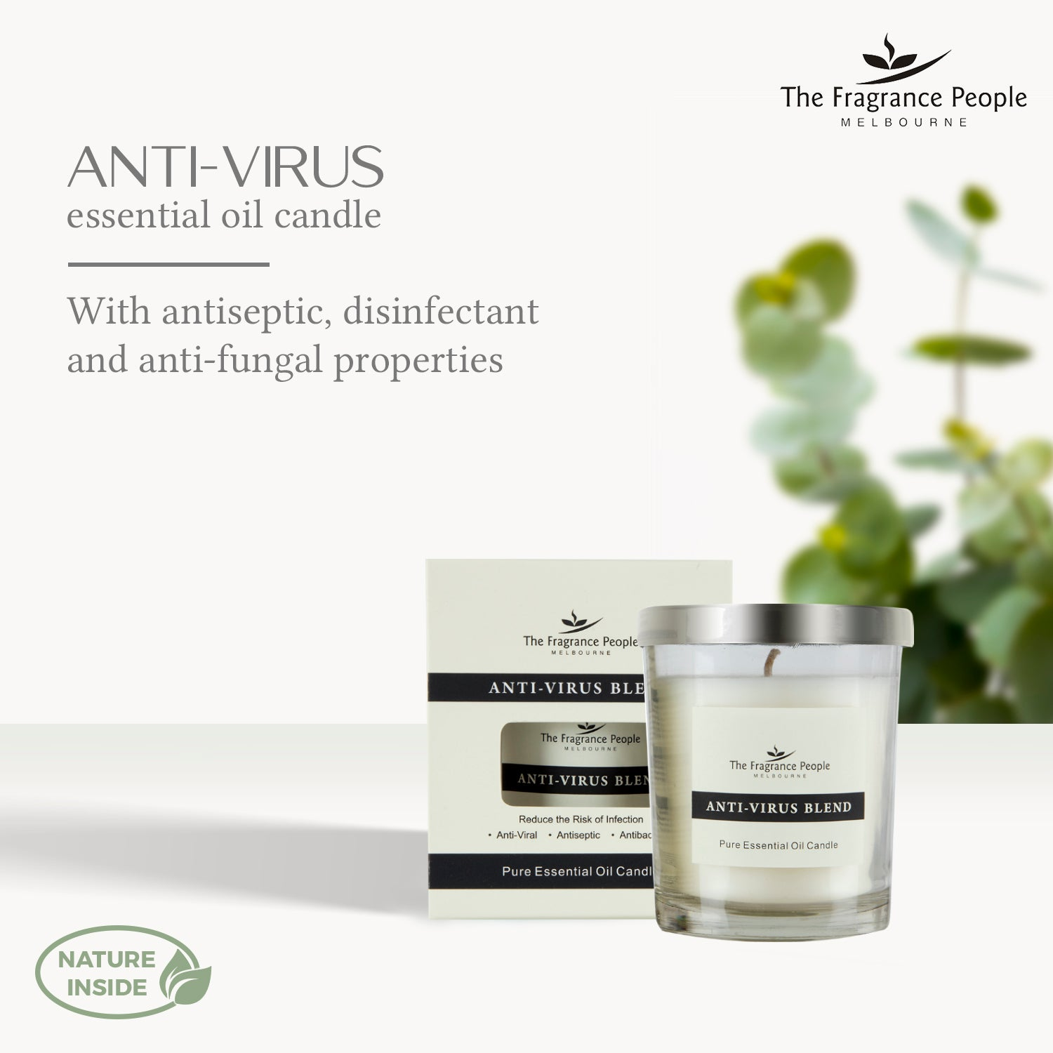 Anti Virus Pure Essential Oil Candle