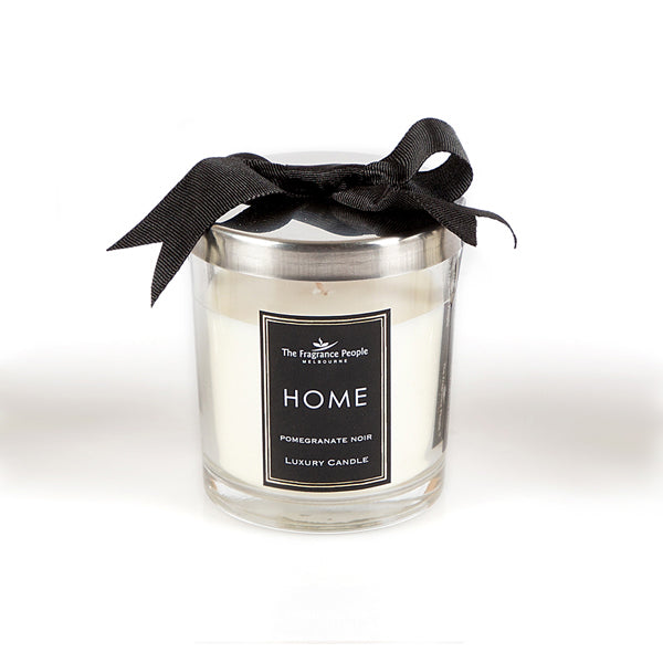 Luxury glass jar small candle - Pomegranate Noir - The Fragrance People