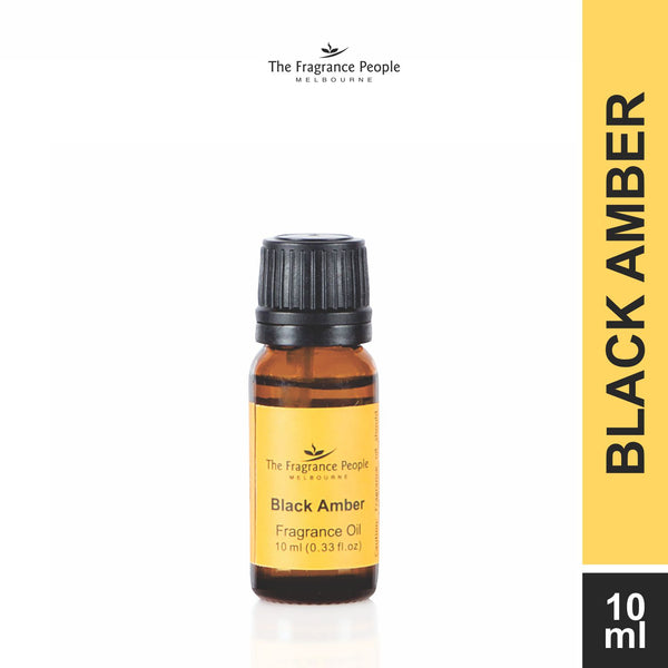 Fragrance oil 10 ml Black Amber - The Fragrance People