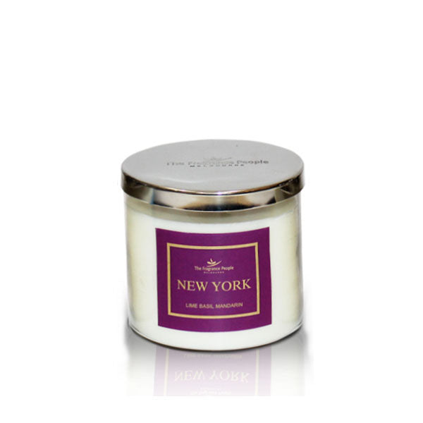 3 Wick Jar New York Candle