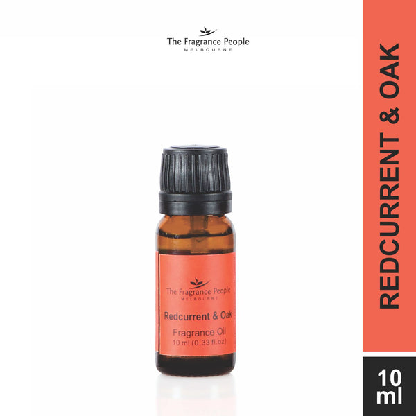 Fragrance oil 10 ml Red Current & Oak - The Fragrance People
