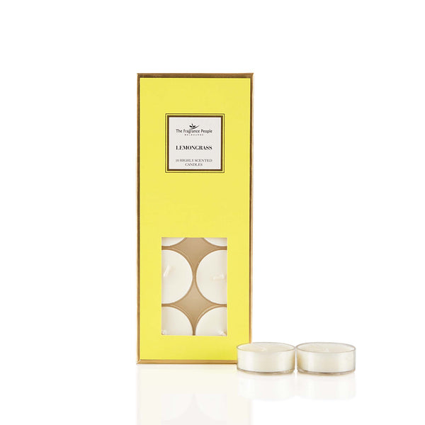10*Tealights Lemon Grass
