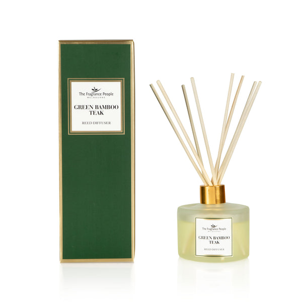 Reed Diffuser Set Green Bamboo Teak