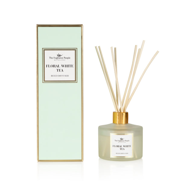 Reed diffuser Set Floral White Tea