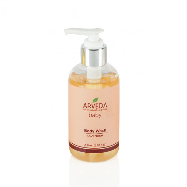 Baby Body Wash 200ml (Lavender) - The Fragrance People