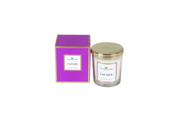 Luxury Scented Candle Lavender - The Fragrance People