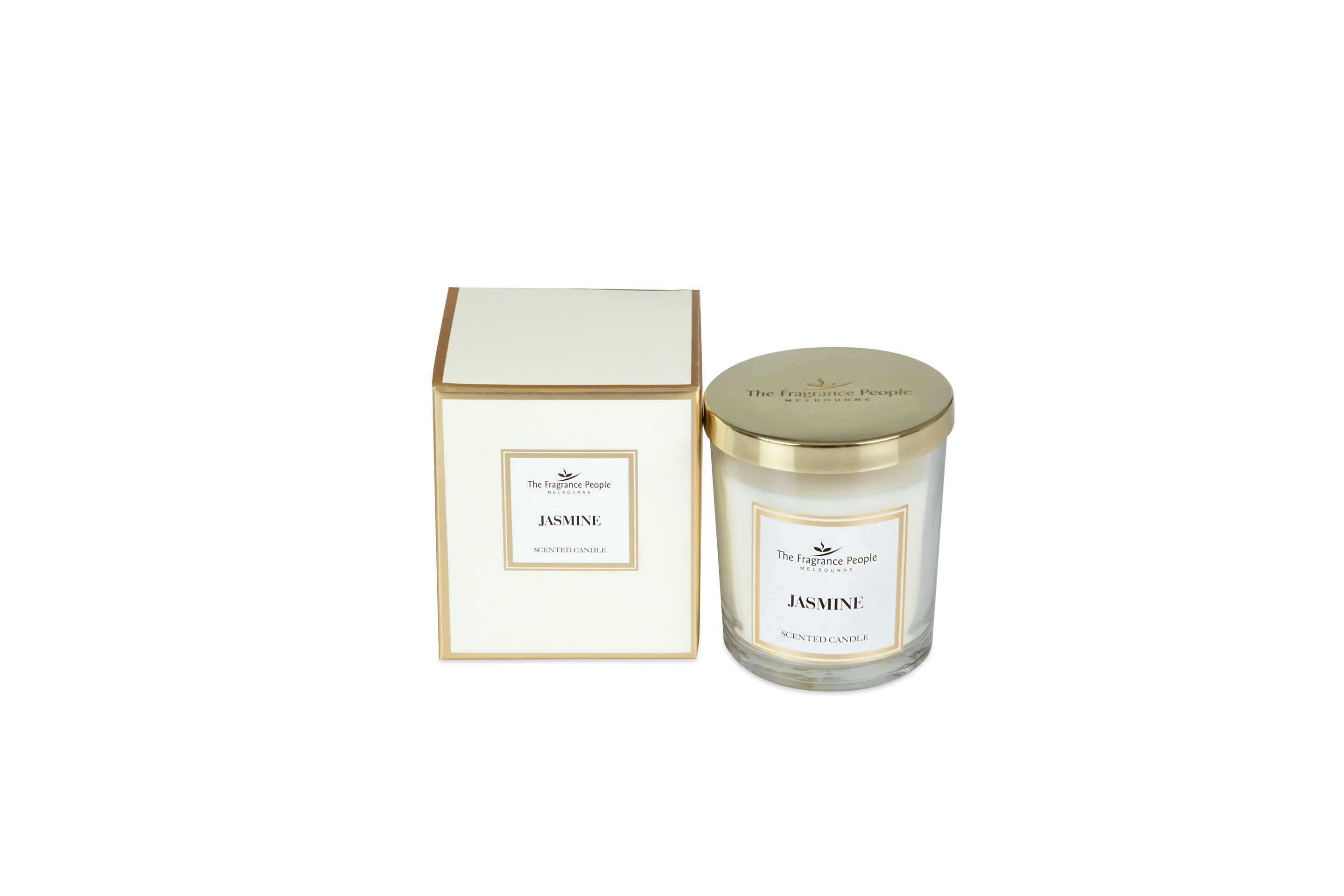 Luxury Scented Candle Jasmine - The Fragrance People