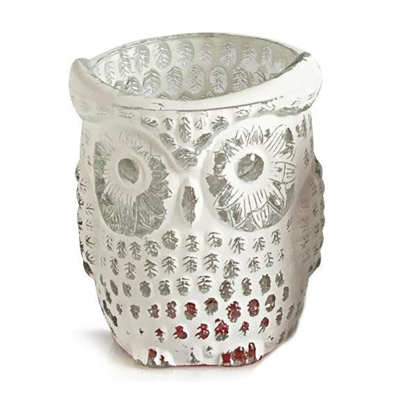 Owl Design Medium Tea-light Holder - The Fragrance People