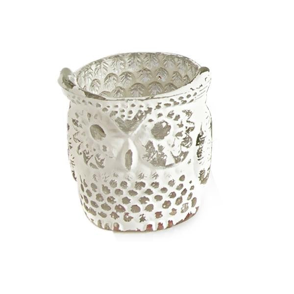 Owl Design Small Tea-light Holder - The Fragrance People