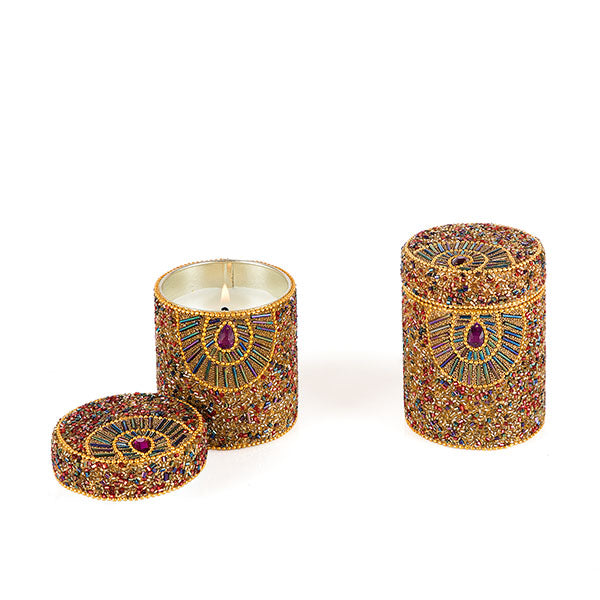 Beaded Candle - The Fragrance People