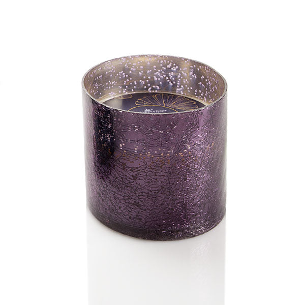 Crackle Mercury Glass Candle - The Fragrance People