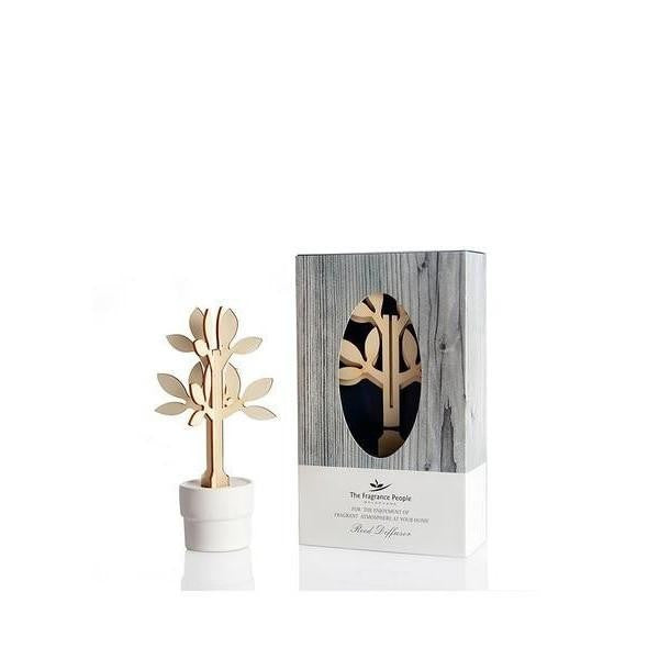 Wooden Tree Deco Reed Diffuser Gift Set - The Fragrance People
