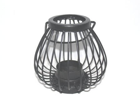 Metal Cage Tealight Holder - The Fragrance People