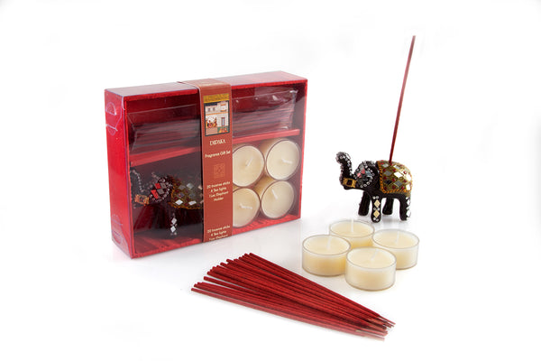 RM Incense Gift Box With Elephant - The Fragrance People