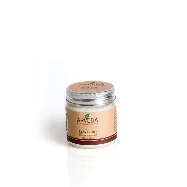 Arveda Body Butter (Sandal Turmeric) - The Fragrance People