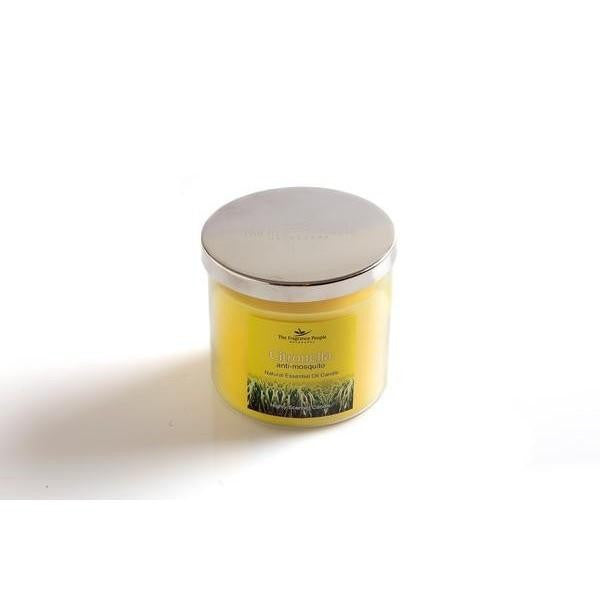 Citronella Fragrance Jar Candle - The Fragrance People