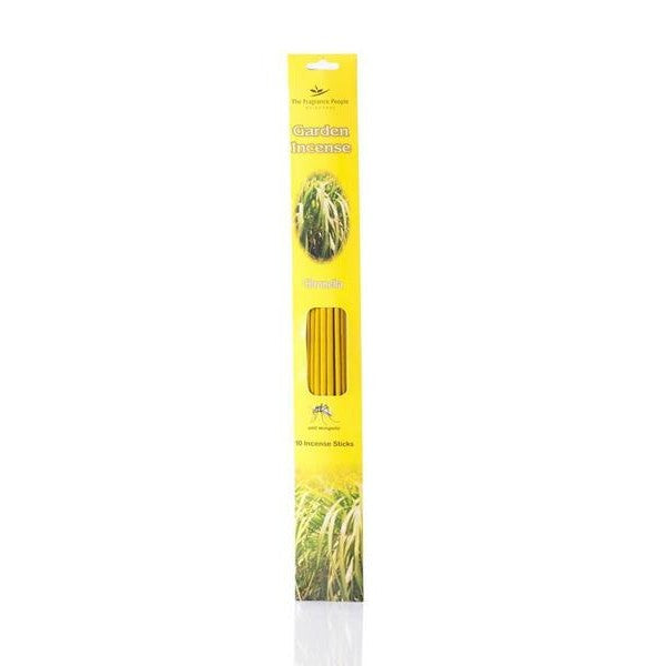 Citronella Fragrance Incense Sticks - The Fragrance People