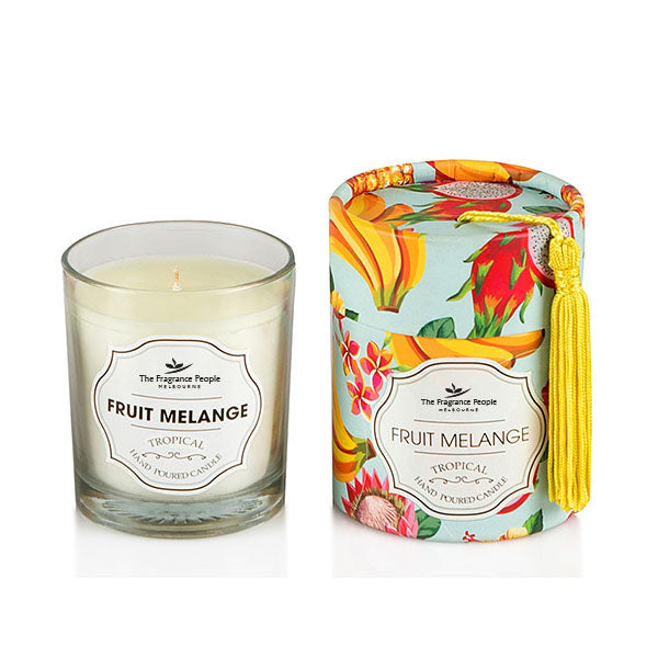 Fruit Melange Glass Candle - The Fragrance People