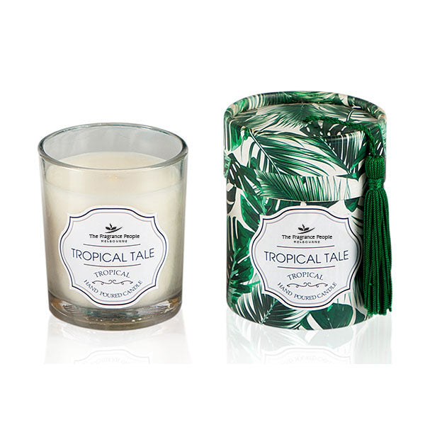 Tropical Tale Glass Candle - The Fragrance People