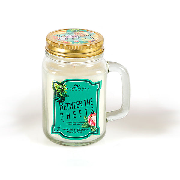 Between The Sheets Mason Jar Candle - The Fragrance People