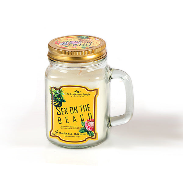 Sex On The Beach Mason Jar Candle - The Fragrance People