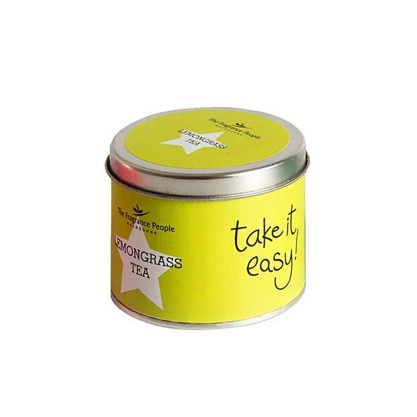 Travel tin candle Lemon Grass