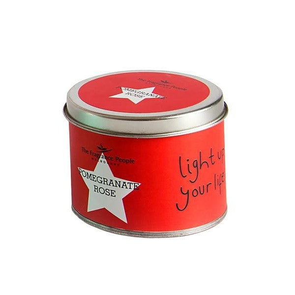 Travel tin candle Pomengrate