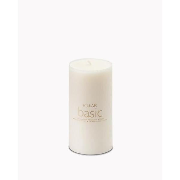 Pillar candle 3* 6 Basic - The Fragrance People