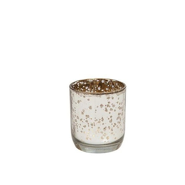 Silver Mercury Glass Tealight - The Fragrance People