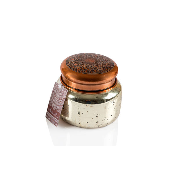 Antique Copper Mercury Jar Candle - The Fragrance People