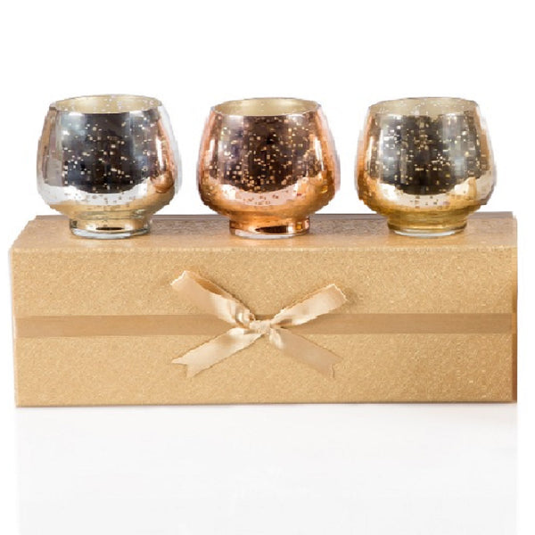 Scented 3 Glass Candle Gift Set