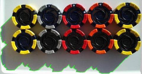 DFX™ Inline Hockey - Roller Hockey Pucks (10-Pack)