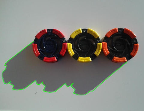 DFX™ Inline Hockey - Roller Hockey Pucks (3-Pack)