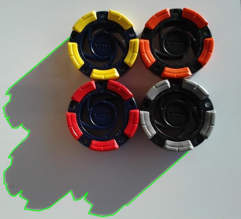 DFX™ Inline Hockey - Roller Hockey Pucks (4-Pack)